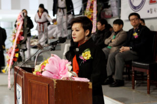 president of the World Youth Taekwondo Federation Yulia Pak